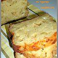Cake au st nectaire et oignons caramélisés