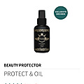 Mon huile d'amour pour les cheveux: protect&oil de chez beauty protector