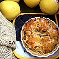Tarte aux pommes noix étoilée 4