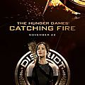 Katniss Catching Fire poster
