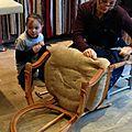 Cours de tapisserie d'ameublement du samedi 24 janvier