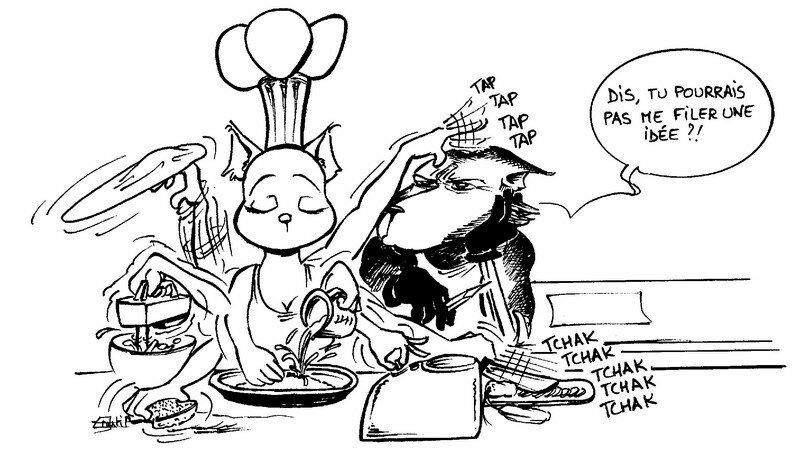 Le blog du gros nul d lices d 39 alyss for Cuisinier humour