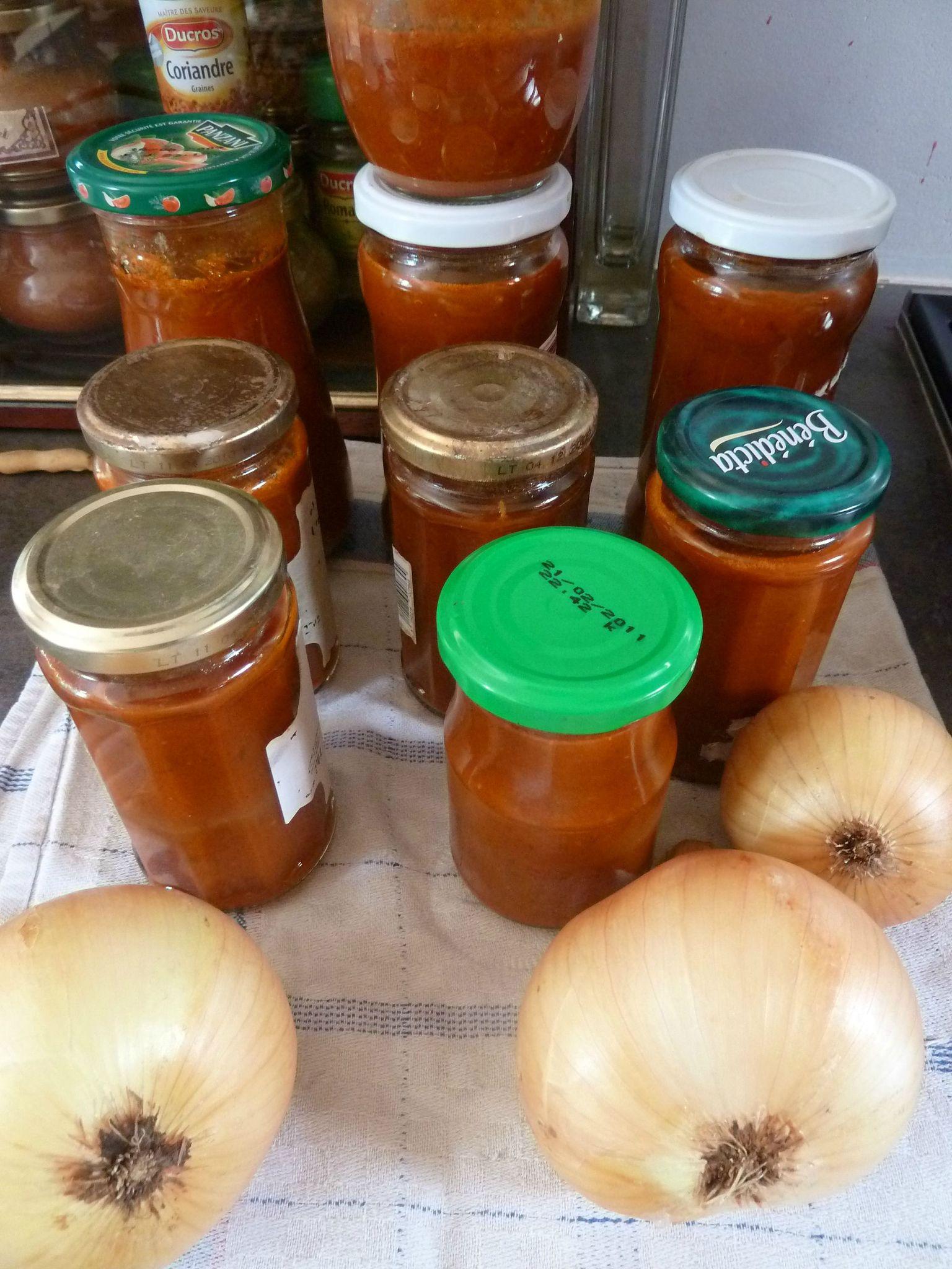 conserves de sauce tomate - www.passionpotager.canalblog.com