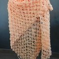 Crochet Flower of Life Chain Shawl 1
